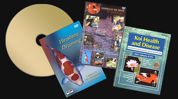 Koi Books and DVDs -